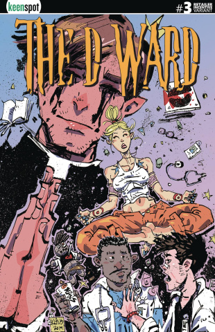 The D Ward #3 (Free 5 Copy Klaus Cover)