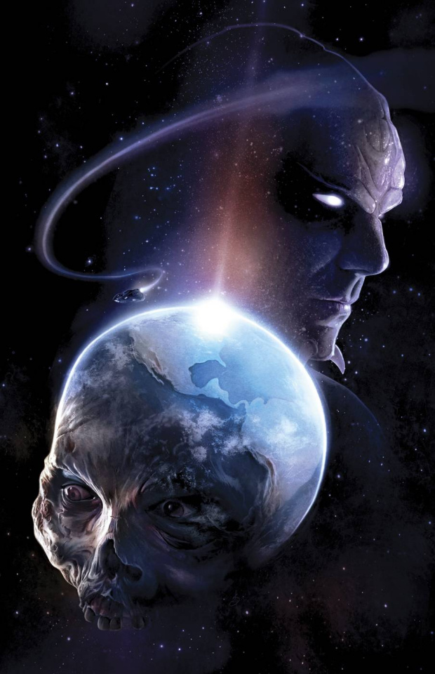 Aliens vs. Zombies #1 (Seidman Cover)