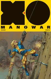 X-O Manowar #2 (Rocafort Cover)