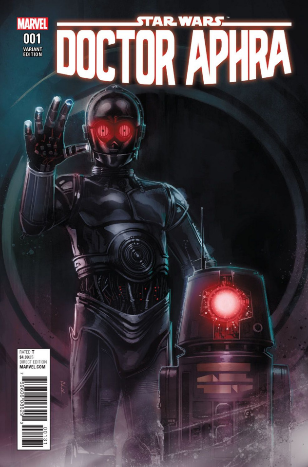Star Wars: Doctor Aphra #1 (Reis Droids Cover)