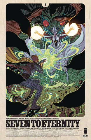Seven to Eternity #9 (Moore Cover)