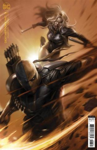 Deathstroke Inc. #3 (Francesco Mattina Card Stock Cover)