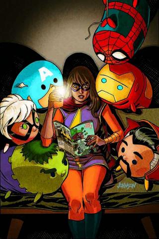 Marvel Tsum Tsum #4 (Johnson Cover)