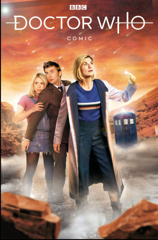 Doctor Who Comics #3 (Photo Cover)