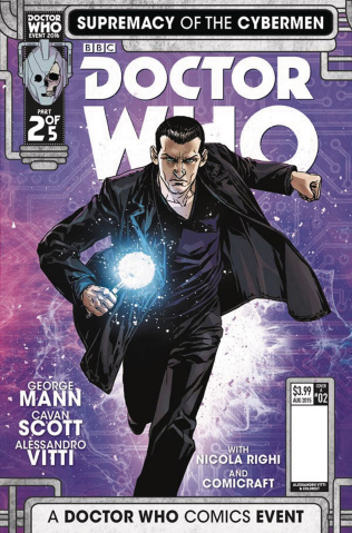 Doctor Who: Supremacy of the Cybermen #2 (Vitti Cover)