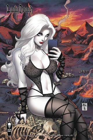 Lady Death: Malevolent Decimation #1 (Selfie Cover)