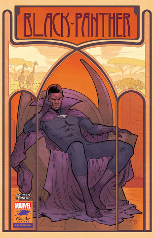Black Panther #25 (Carnero Stormbreakers Cover)