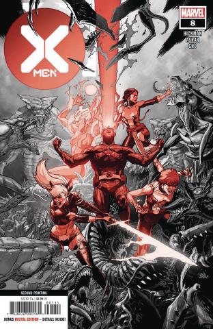 X-Men #8 (2nd Printing)