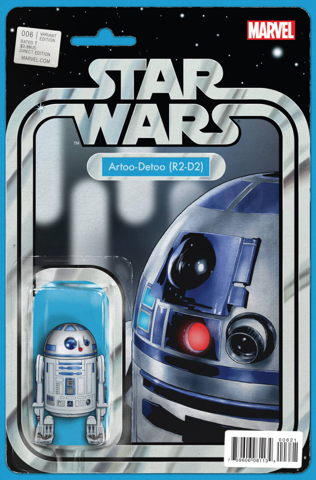 Star Wars #6 (Christopher Action Figure Cover)