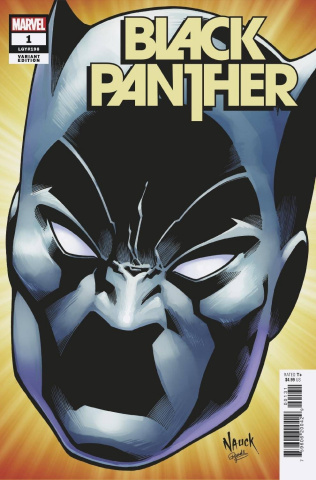 Black Panther #1 (Nauck Headshot Cover)