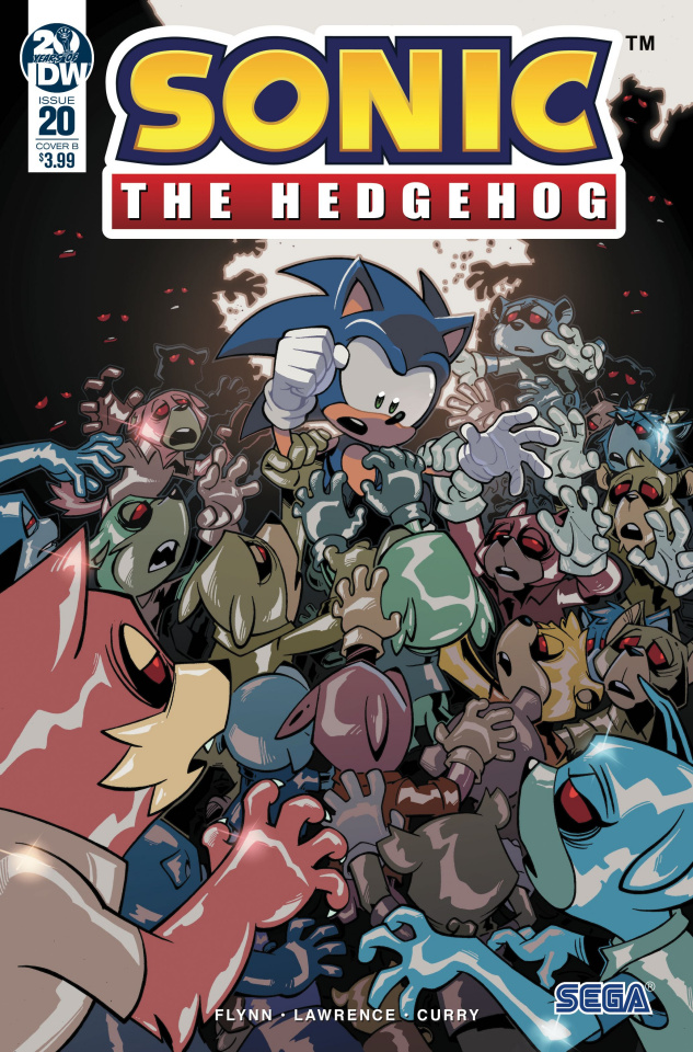 Sonic the Hedgehog #20 (Lawrence Cover)