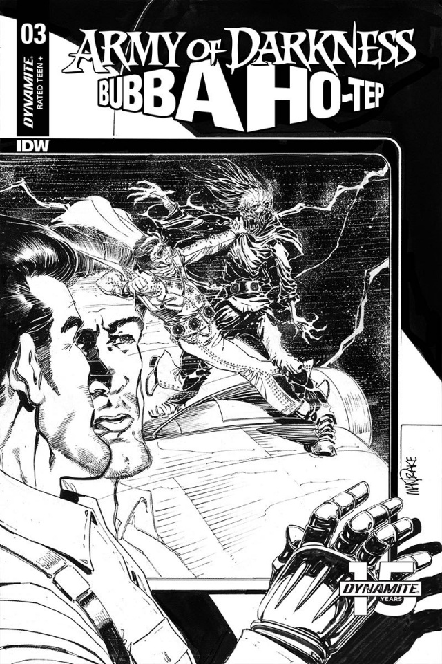 Army of Darkness / Bubba Ho-Tep #3 (30 Copy Mandrake B&W Cover)