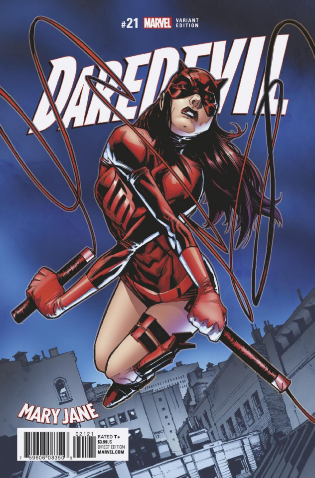 Daredevil #21 (Ramos Mary Jane Cover)