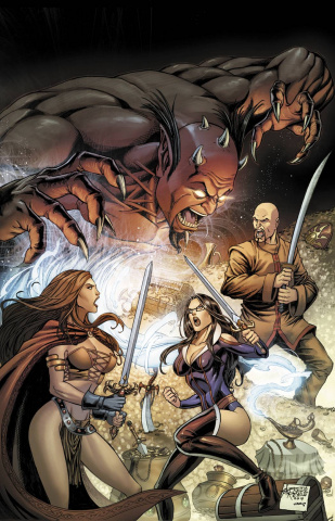 Grimm Fairy Tales #101 (Reyes Cover)