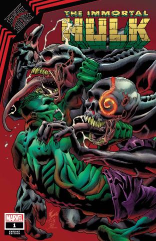 King in Black: The Immortal Hulk #1 (Bennett Cover)