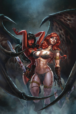 Red Sonja: Age of Chaos #4 (Quah Virgin Cover)