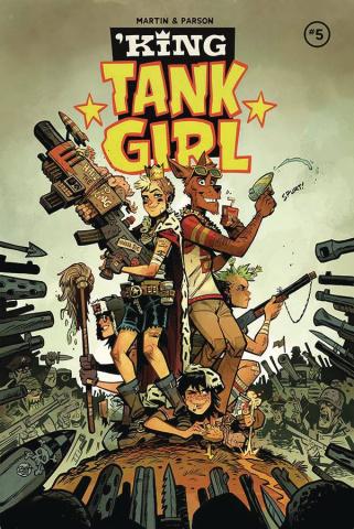 King Tank Girl #5 (Parson Cover)