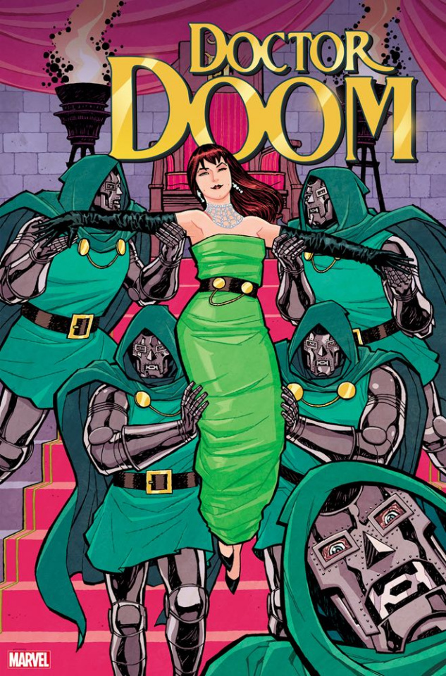 Doctor Doom #1 (Chiang Mary Jane Cover)