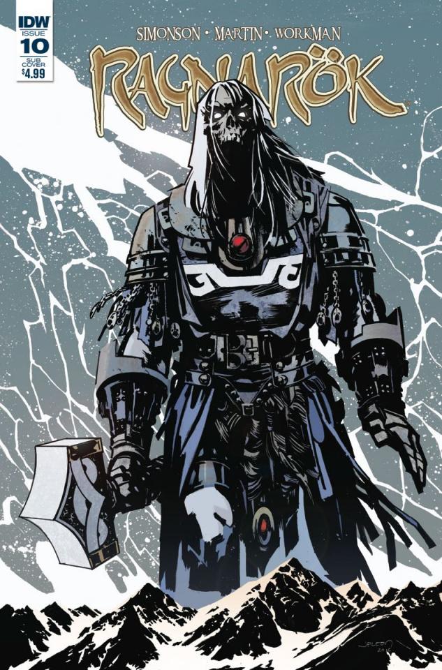 Ragnarök #10 (Subscription Cover)