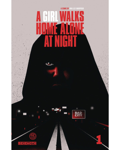 A Girl Walks Home Alone At Night #1 (Walter Cover)