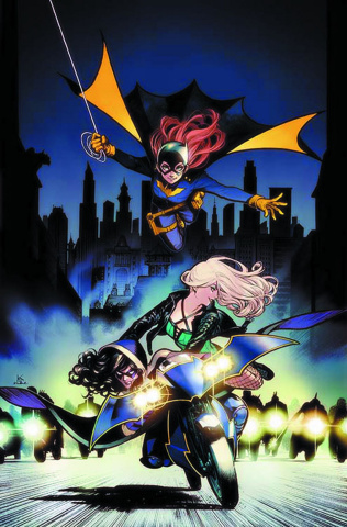 Batgirl and The Birds of Prey #2 (Variant Cover)
