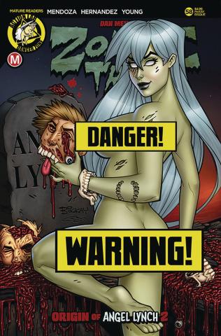 Zombie Tramp #58 (McKay Risque Cover)