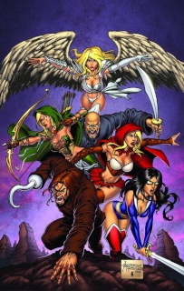 Grimm Fairy Tales: Realm Knights (Reyes Cover)