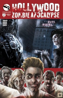 Hollywood: Zombie Apocalypse #2 (Caldwell Cover)