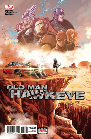 Old Man Hawkeye #2