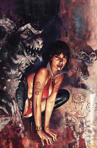 Vampirella #19 (Mastrazzo Virgin Cover)