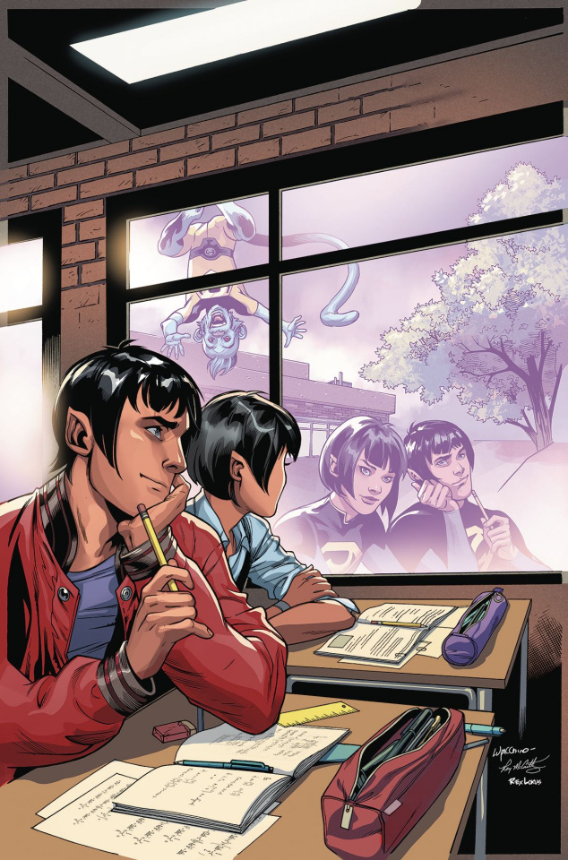 Wonder Twins #6 (Variant Cover)