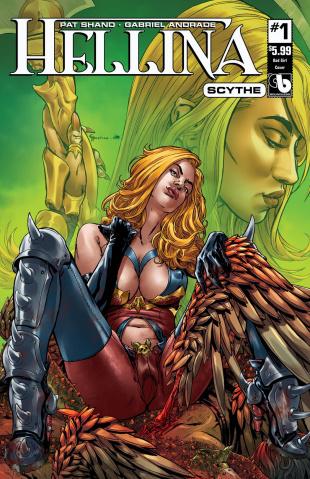 Hellina: Scythe #1 (Bad Girl Cover)