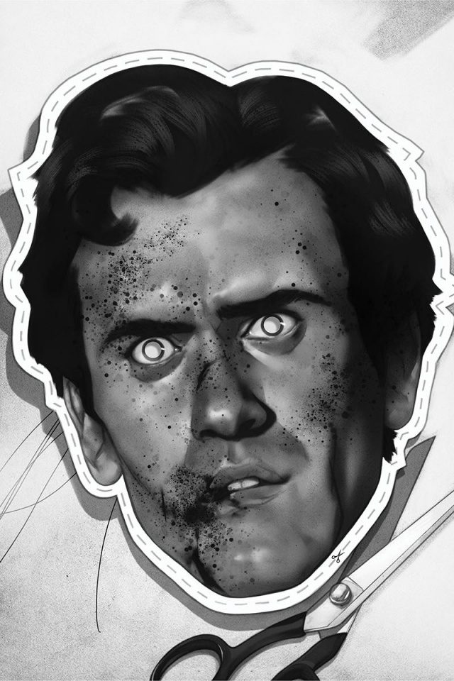 Death to the Army of Darkness #2 (15 Copy Oliver B&W Virgin Cover)
