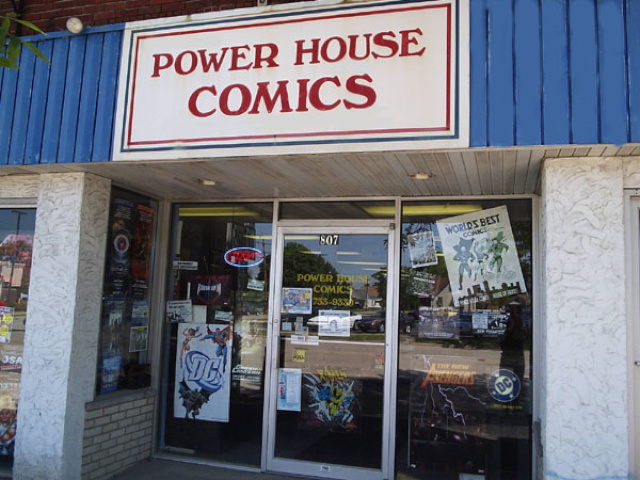 Power House Comics