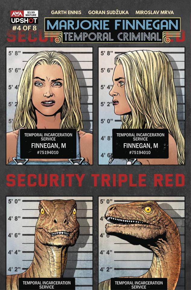 Marjorie Finnegan: Temporal Criminal #4