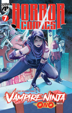 Horror Comics #7: Vampire Ninja Ono, Part 1 of 2