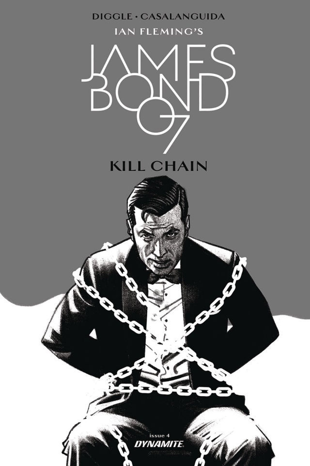 James Bond: Kill Chain #4 (10 Copy Smallwood B&W Cover)