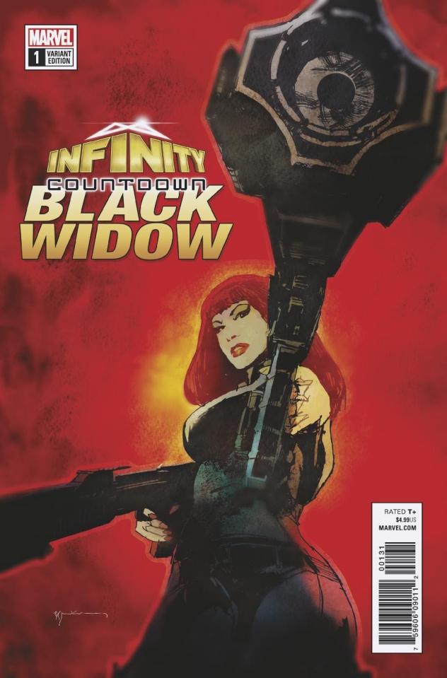 Infinity Countdown: Black Widow #1 (Seinkiewicz Cover)