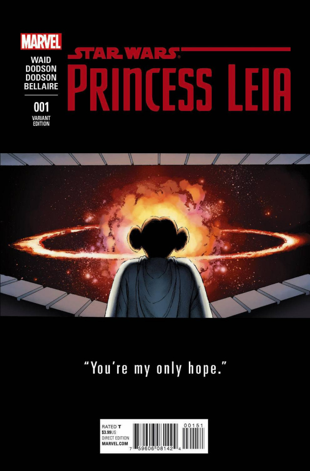 Princess Leia #1 (Cassaday Teaser Cover)