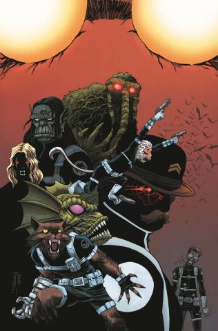 The Howling Commandos of S.H.I.E.L.D. #1 (Shalvey Cover)