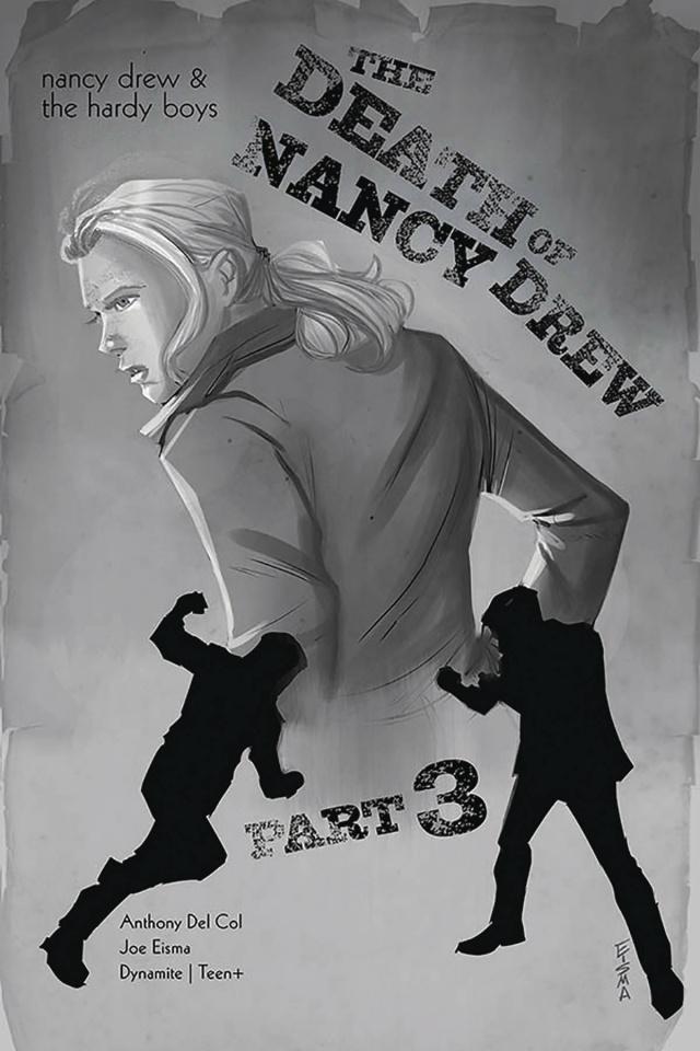 Nancy Drew & The Hardy Boys: The Death of Nancy Drew #3 (10 Copy Eisma Cover)