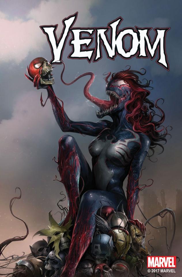 Venom #151 (Mattina Mary Jane Cover)