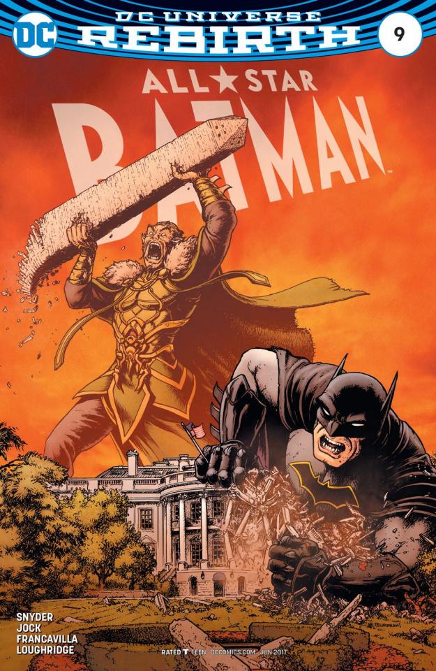 All-Star Batman #9 (Burnham Cover)