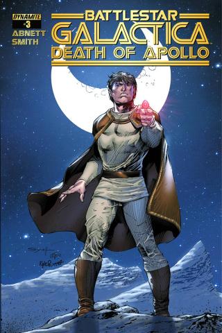Battlestar Galactica: Death of Apollo #3 (Subscription Cover)