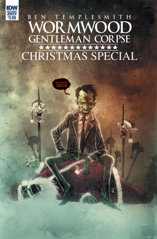 Wormwood: Gentleman Corpse Christmas Special (Templesmith Cover)