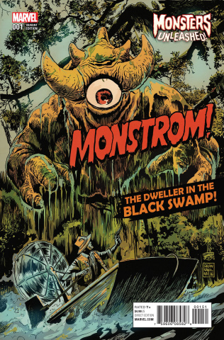 Monsters Unleashed! #1 (Francavilla Cover)