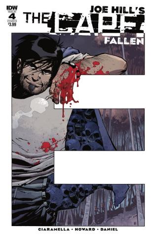 The Cape: Fallen #4 (Daniel Cover)