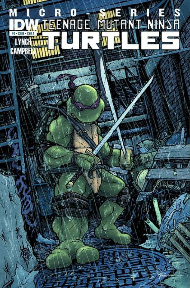 Teenage Mutant Ninja Turtles Micro-Series #4: Leonardo