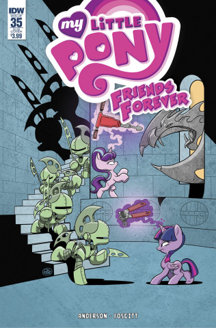 My Little Pony: Friends Forever #35 (Subscription Cover)