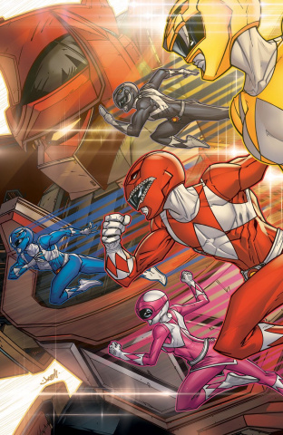Go, Go, Power Rangers! Back To School #1 (Meyers Cover)